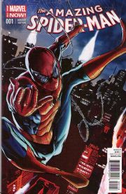 Amazing Spider-man #1 Mhan Variant (2014) Marvel comic book